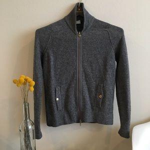 JCrew Zip Sweater